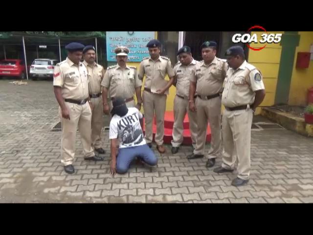 Vasco police arrest one for burglary