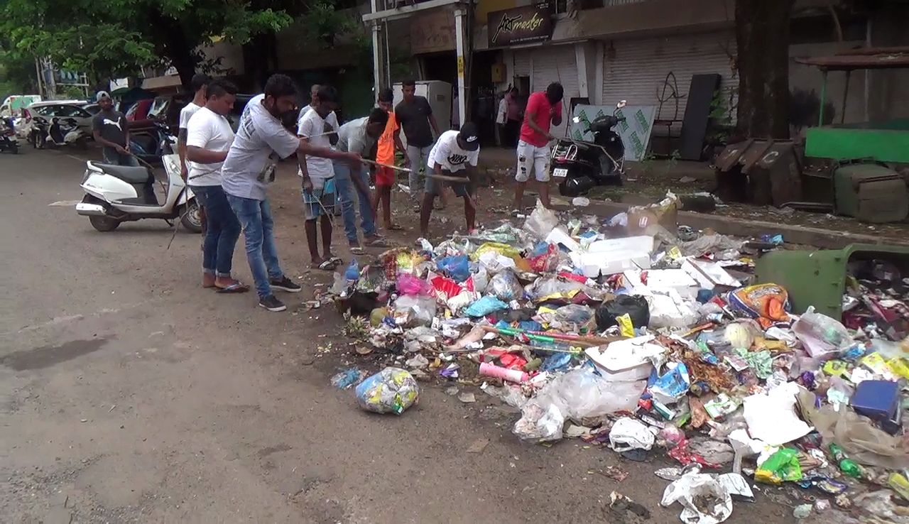 Vascokar fear of an epidemic due to garbage