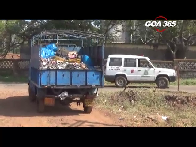 Vigilant citizens catch littering garbage truck in Vasco