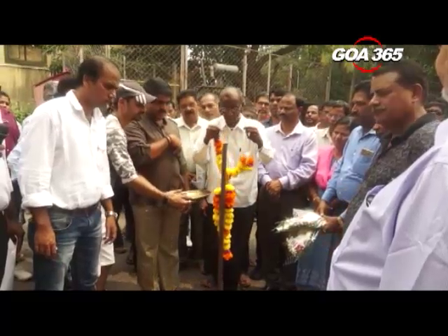 Vijai launches sewerage connections in Fatorda
