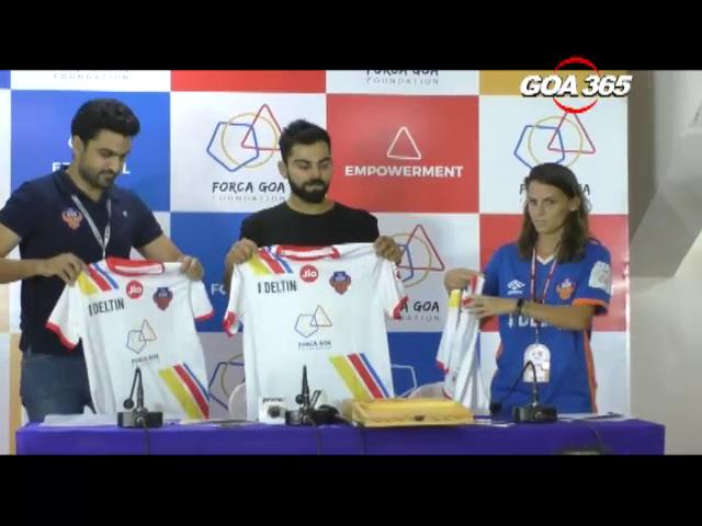 Virat launches FC Goa foundation