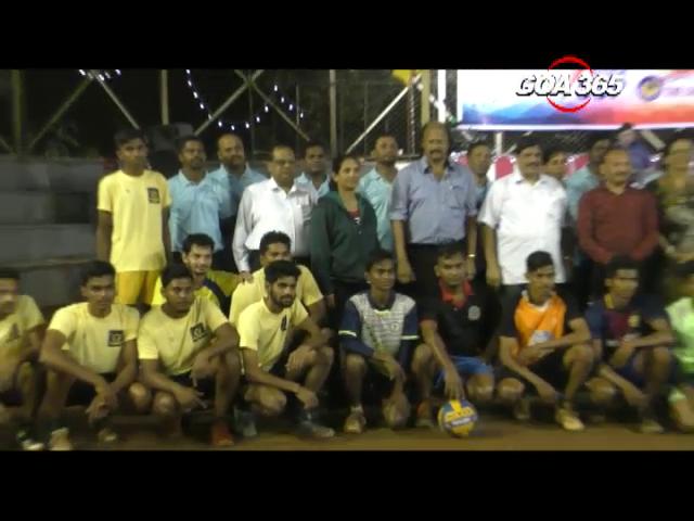 Volleyball tourney begins in Ponda