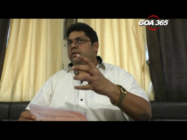 Which cargo? From where? Reginald asks Suresh Prabhu on Mopa
