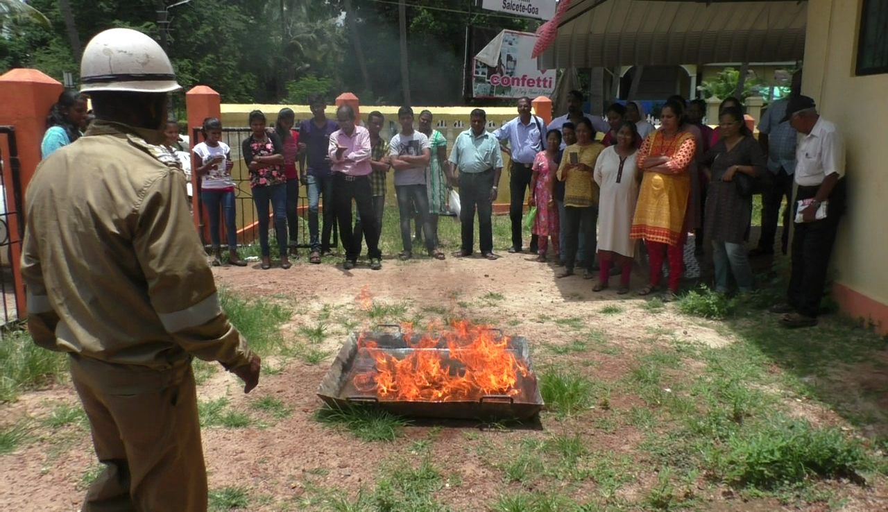 Workshop to create awareness about fire safety, earthquakes, floods organised