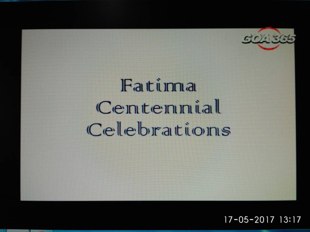 Fatima Centennial Celebrations.