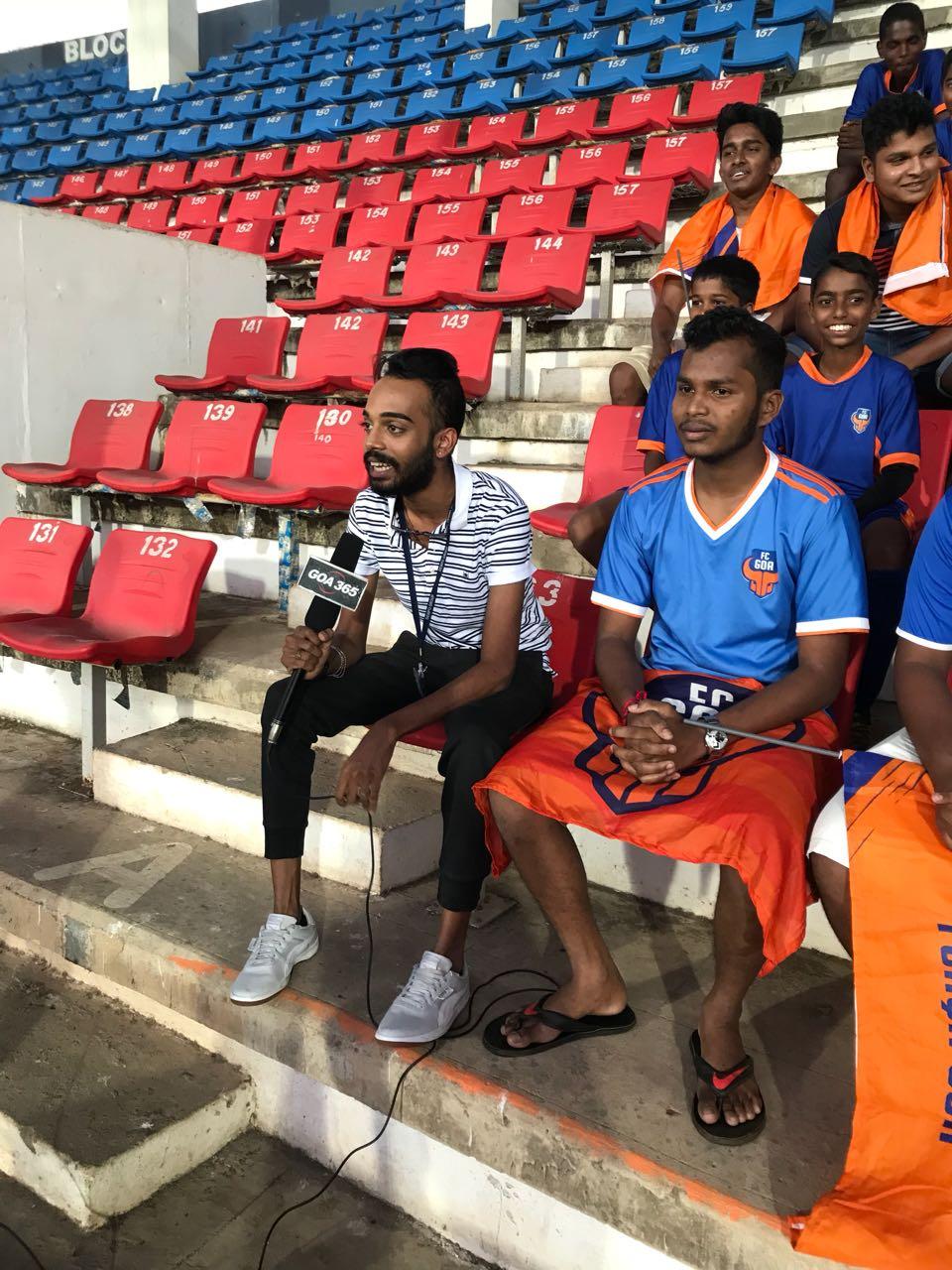 FC GOA 2017-18 Squad Unveiling