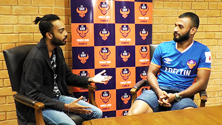 Sports Encounter with FCGOA's Pronay Halder